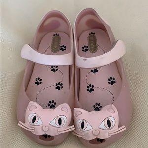 Mini Melissa cat shoes